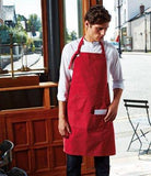 Customisable, personalise Premier Calibre Heavy Cotton Canvas Pocket Apron - Stitch & Print NI