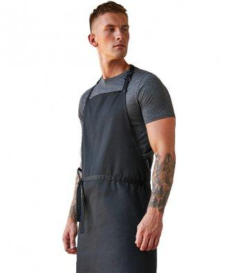 Customisable, personalise Bargear® Bib Apron (no pocket) Superwash® 60°C Unisex (Classic Fit) - Stitch & Print NI