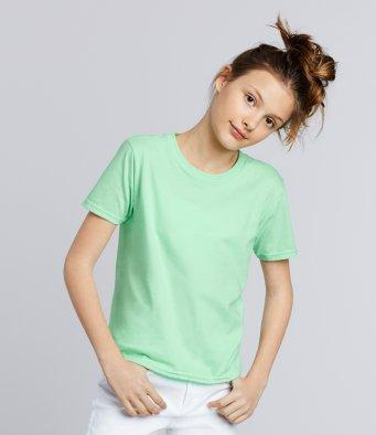 Customisable, personalise Gildan Softstyle™ Kids Ringspun T-Shirt - Stitch & Print NI