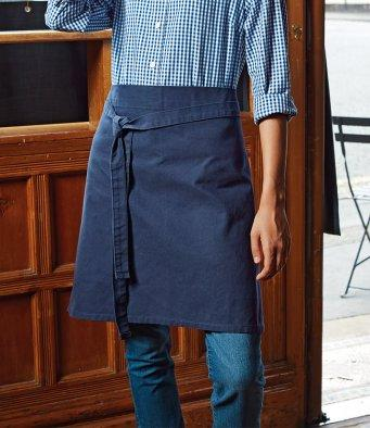 Customisable, personalise Premier Calibre Heavy Cotton Canvas Waist Apron - Stitch & Print NI