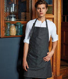 Customisable, personalise Jeans Stitch Bib Apron - Stitch & Print NI