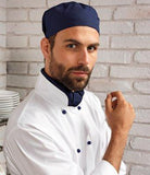 Customisable, personalise Premier Chef's Skull Cap - Stitch & Print NI