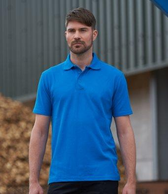 Customisable, personalise PRO RTX Pro Piqué Polo Shirt - Stitch & Print NI