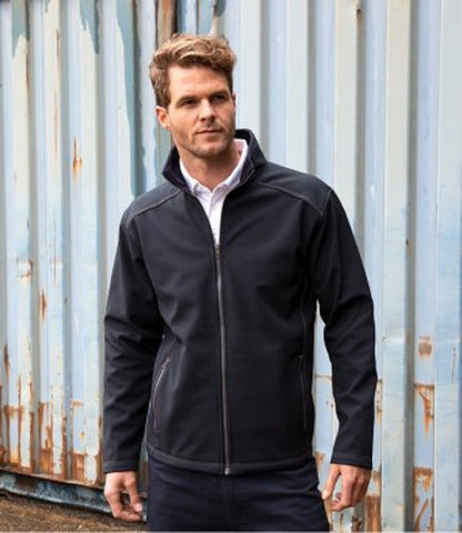 Customisable, personalise Result Work-Guard Treble Stitch Soft Shell Jacket - Stitch & Print NI
