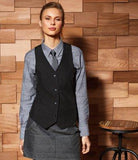 Customisable, personalise Premier Ladies Lined Waistcoat - Stitch & Print NI