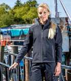 Customisable, personalise Result Work-Guard Ladies Treble Stitch Soft Shell Jacket - Stitch & Print NI