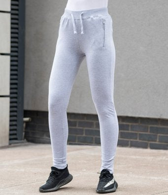 Customisable, personalise AWDis Girlie Tapered Track Pants - Stitch & Print NI