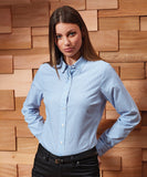 Customisable, personalise Premier - Women's Maxton Check Long Sleeve Shirt - Stitch & Print NI