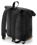 Quadra Heritage Waxed Canvas Backpack