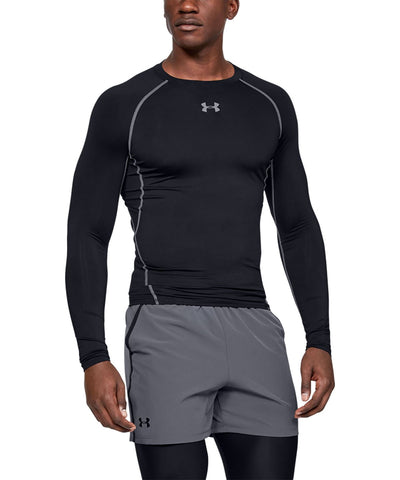 Customisable, personalise Under Armour - HeatGear® Armour Long Sleeve Compression Shirt - Stitch & Print NI