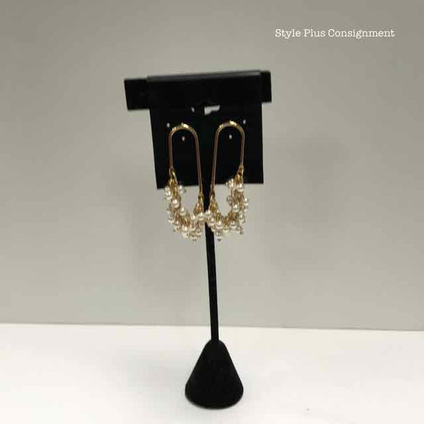 Fashion Gold Earrings - Style Plus Consignment Boutique