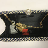 JNB Black Print Purse - Style Plus Consignment Boutique