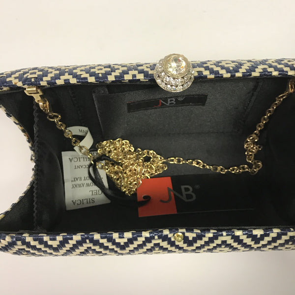 JNB Black Print Purse