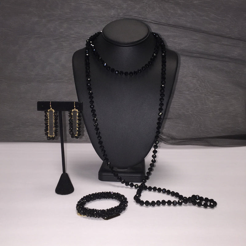 Style Plus Boutique Black Necklace - Style Plus Consignment Boutique