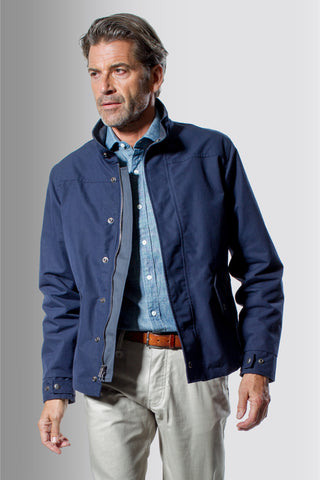 The HonourMark Signature Harrington Jacket - Navy - HM