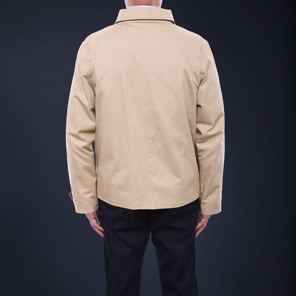 Signature Driving Jacket - Classic Khaki