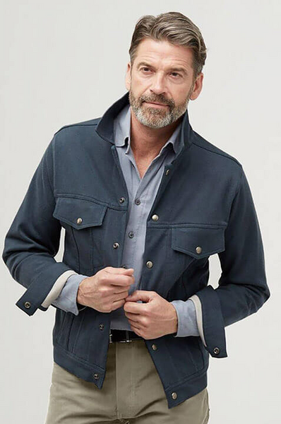 The HonourMark Denim Jacket  - Deep Navy