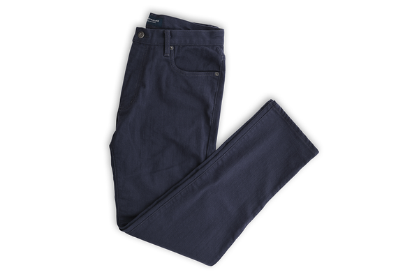 The Reactive Dyed Japanese Denim - Admiral Navy