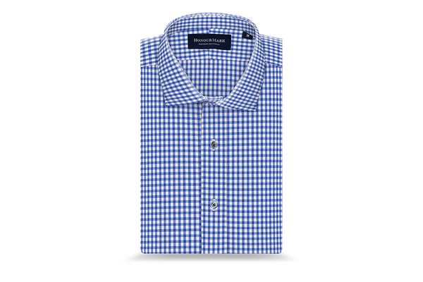 The Tencel Gingham Oxford - Preppy Royal