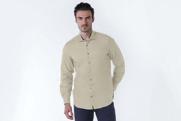 The Denim Sport Shirt - Washed Wheat