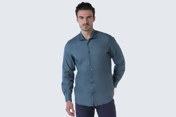 The Denim Sport Shirt - Light Indigo
