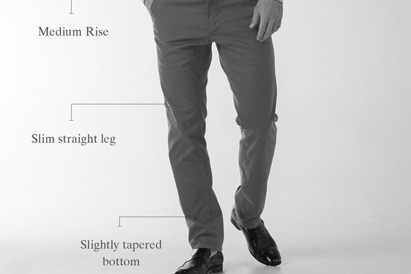 The Impression Pant - Faded Royal