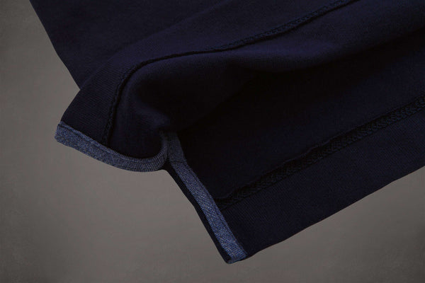 The Cut-Away Knit - Deep Navy