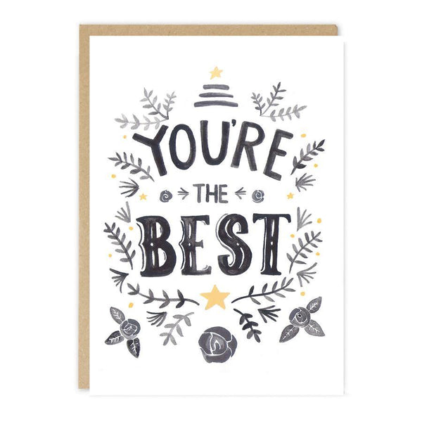 Card - You're the Best