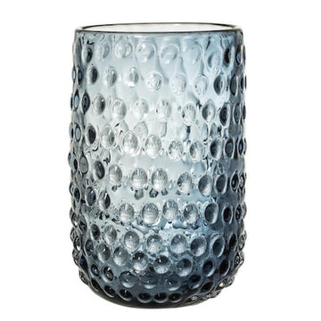 Glass Vase - Dark Blue