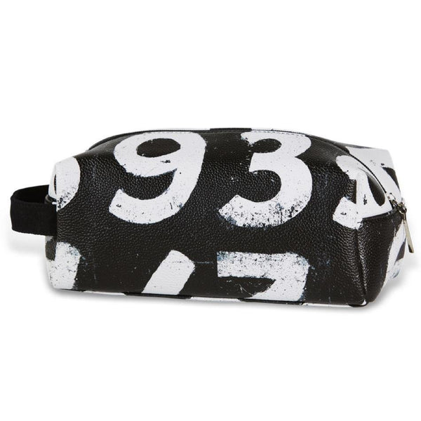 Scoreboard Numbers Washbag - Black