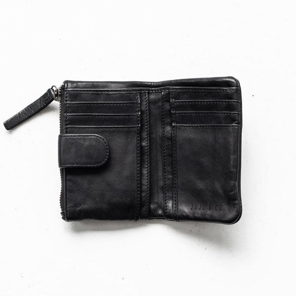 Juju and Co - Small Capri Wallet - Black