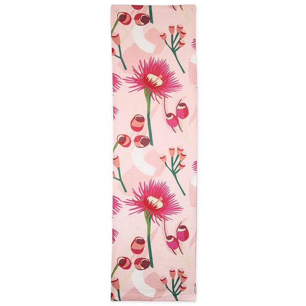 Organic Cotton Table Runner -  Leah Bartholomew - Red