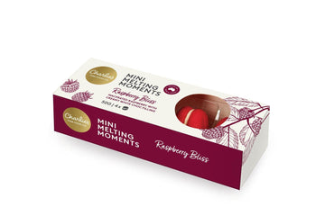 Mini Melting Moments (4 pack) - Raspbery Bliss 50g