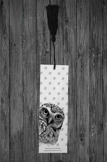 Owl Bookmark - Cathy Hamilton Artworks