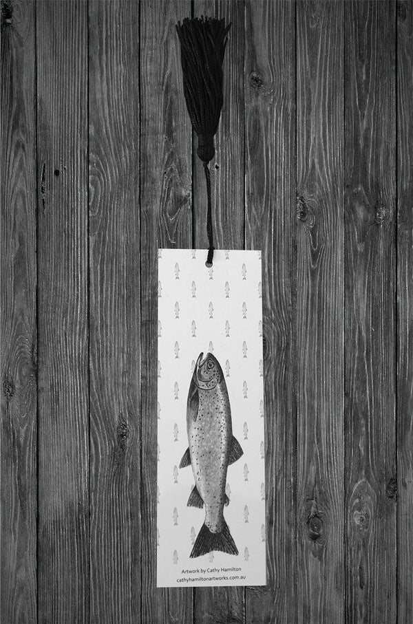 Trout Bookmark - Cathy Hamilton Artworks