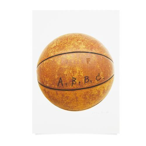 ABBC Vintage Basketball Work on Paper