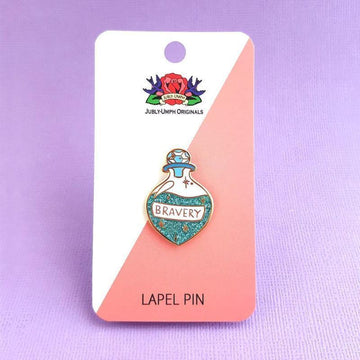 Jubly Umph - Brew of Bravery Lapel Pin