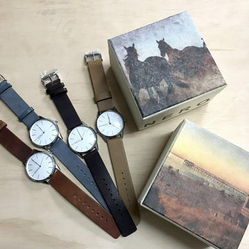 Nero Watch - Tan Leather