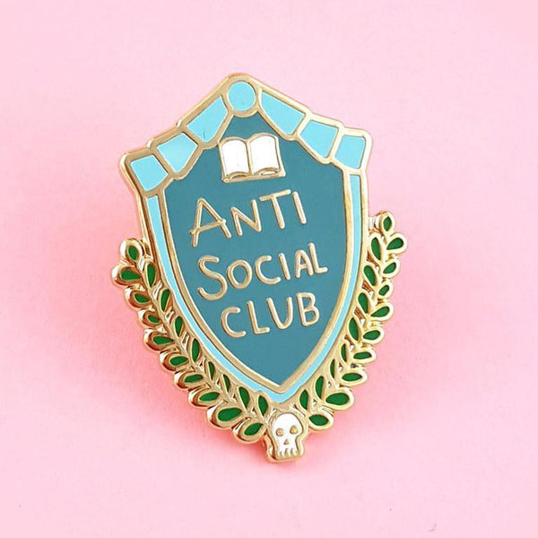 Jubly Umph - Anti Social Club Lapel Pin