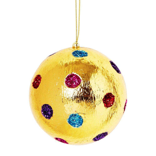 Christmas Decorations - Gold Bauble