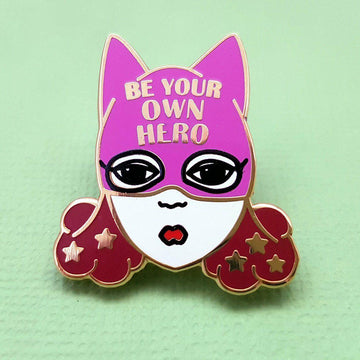 Jubly Umph - Be Your Own Hero Lapel Pin