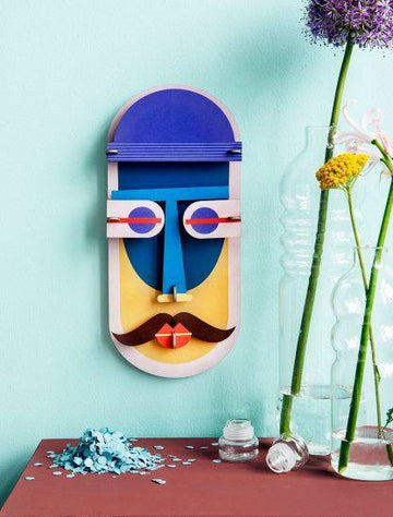 Studio Roof - Wall Decoration Mask - Chicago