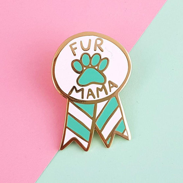 Jubly Umph - Fur Mama Lapel Pin