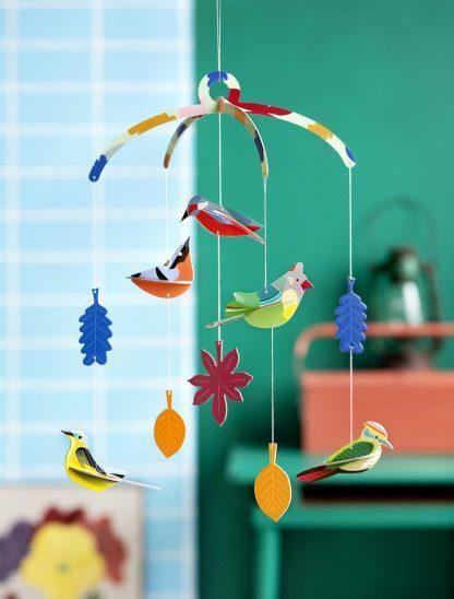 Studio Roof - Mobile - Garden Birds