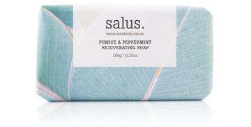 Salus Pumice & Peppermint Rejuvenating Soap