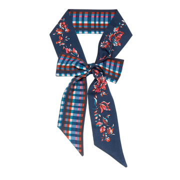 Inouitoosh Scarf - Lavalliere blue floral