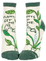 Novelty Socks - Plants Get Me