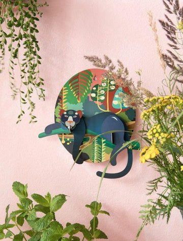 Studio Roof - Wall Decoration Jungle Animals - Jungle Puma
