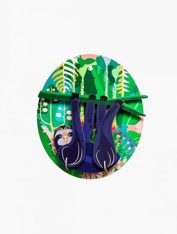 Studio Roof - Wall Decoration Jungle Animals - Jungle Sloth
