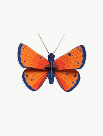 Studio Roof - Wall Decoration Insects Small - Copper Butterfly